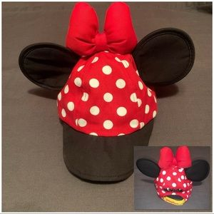 🎀 Disney Parks Minnie Mouse bow & ears hat